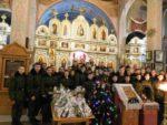 Благодарственный молебен в дни празднования Рождества Христова