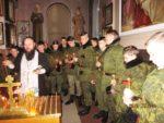 В храме великомученика Георгия Победоносца собрались все казаки-кадеты