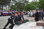 В станице Бриньковской прошел праздничный митинг