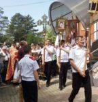 Престольный праздник в станице Бриньковской