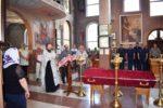 Настоятель храма станицы Бриньковской совершил молитву о погибших жителях станицы