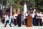 У кадетов состоялось торжественное построение, посвященное началу учебного года