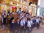 Юные казачата станицы Бриньковской приняли присягу в храме